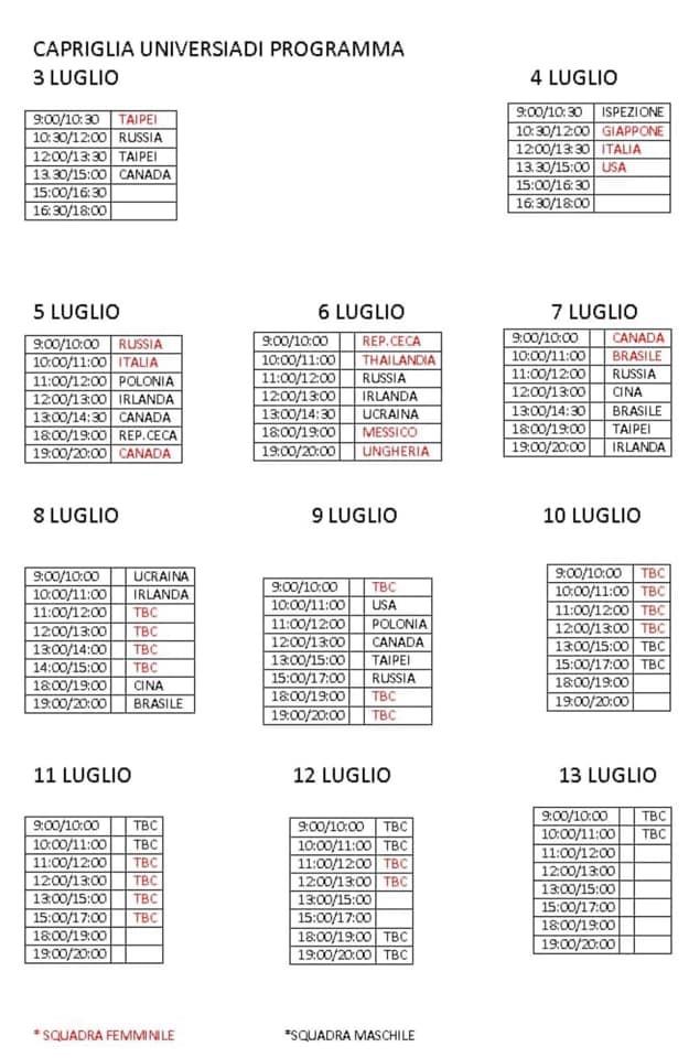 Calendario Universiadi.Universiadi 2019 Il Palazzetto Dello Sport Della Frazione
